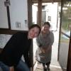 夢屋ブックレット第3弾の打ち合わせをかね、画家の青柳綾さんが、やって来られました。