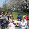 今日は、みんなで『阿蘇みんなの森』へ、手作りお弁当を持って花見に行ってきました。