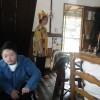 今日は、午後から大津のライブ喫茶『ハロー通り』のマスター田島さんとお友達の山東さんが訪ねてきてくださいました。