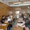 ミユさんが、挨拶に来てくれました。ありがとうございました。午後は、益城町人権教育レポートに協力者として参加してきました。