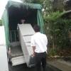 午前中には新しい冷蔵庫が、午後には野菜ty(のなてぃー)にご宿泊のお客様が到着されました。
