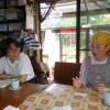 熊本学園大学から講師の吉村千恵さんが、講義の依頼に来られました。