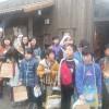 山田小学校4年、5年生の体験学習でした。