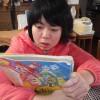 今日も朝から読書に熱心なメンバーたちでした。