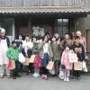 山田小学校6年生の皆さんが、体験学習にやってきました。おいしそうなパンができて、みんな大喜びでした。