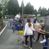 阿蘇市の蔵原地区を『子ども神輿』が通りました。