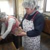 マルシェの佐藤農園さんがパンを買ってくださいました。同人詩『詩と眞實』の会員の澤田さんが訪ねて来てくださいました。ありがとうございました。