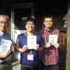 「被災地障害者センターくまもと・JDF熊本支援センター」から頂いた支援品を早速、メンバーに配ってきました。