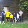 北九州からサッカーのギラヴァンツの応援をしにやってきた大学の同級生一行が、途中、震災のお見舞いということでお菓子をくれに寄ってくれました。ありがとうございました。