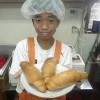 阿蘇中学校・体験学習3日目。~自分でつくったパンにポテトサラダを挟んで食べてみました。