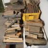 今日は薪づくりと餅つきのお手伝いをしました。