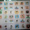 お客様への感謝カードも順調に出来上がっています。ユウコさん考案の国旗シリーズです。