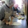 さあ、今週、最後の活動です。パン作りにも力が入ります。