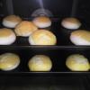 パンもおいしそうに膨らんできています。