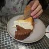 オルモ・コッピアさんからいただいたのと自分たちでつくったケーキをおやつでいただきました。