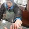 いつものようにコウキさんから〝希望の虹〟の手渡しがあった後、皆でパンづくりをやっています。