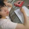 今日も暑いですが、みんなで楽しく活動しています。マイさんも塗り絵をやっています。