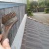 お盆ですが今日も活動しています。夢屋の壁を塗りかえました。