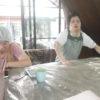 帯広畜産大学の学生の方がまたまた訪ねて来て下さいました。お隣のオルモ・コッピアで短期の修行をされています。
