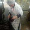 今日もみんなで楽しくパン作りをやっています。コウキさんも元気です。
