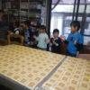 先週に引き続き、一の宮小学校の皆さんがパン作りの体験交流学習に来てくれました。ありがとうございました。