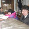 マイさんも元気にやってきてくれました。阿蘇小からも先生方が訪ねて来てくれました。ありがとうございました。
