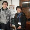 昨日はチトセさんの誕生日を皆でお祝いしました。一の宮小学校の先生が二度目の打ち合わせに来られました。