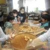 今日は、今年度で閉校になる山田小学校の3、4年生の皆さんが体験学習に来てくれました。