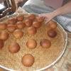 今日も皆でパン作りを始め、いろんな活動をやっています。