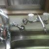 水漏れがしていた蛇口も混合栓から二栓へ変え、よりシンプルな形に戻しています。