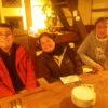 12/27は忘年会でした。皆で一年間の出来事を振り返りながら、楽しく会食しました。