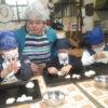 一の宮小学校から今年第一回目のパン作り体験と交流学習に来てくれました。ありがとうございました。