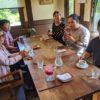 2020.8.13避暑別れの茶話会をお隣のオルモ・コッピアさんでしました。