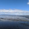 荒尾の海岸線と有明海は、こんな感じです。