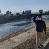 小嵐山、黒川沿いもきれいに清掃してあり、散歩にもいいですよ。