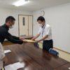 阿蘇市教育委員会と阿蘇教育事務所へ『入院児童生徒等への教育支援の一層の充実の要望書』を提出してきました。